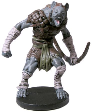 Gnoll Fighter #22 D&D Icons of the Realms: Elemental Evil