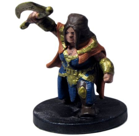 Gold Dwarf Guard #15 D&D Icons of the Realms: Elemental Evil
