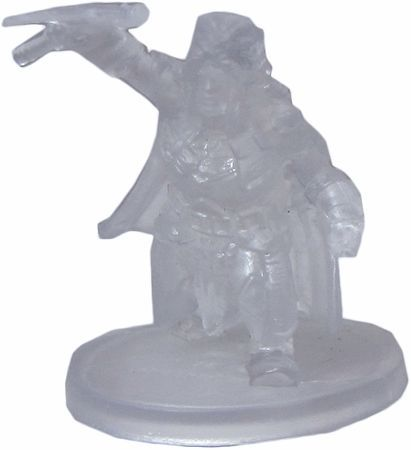 Gold Dwarf Guard (Invisible) #15 D&D Icons of the Realms: Elemental Evil