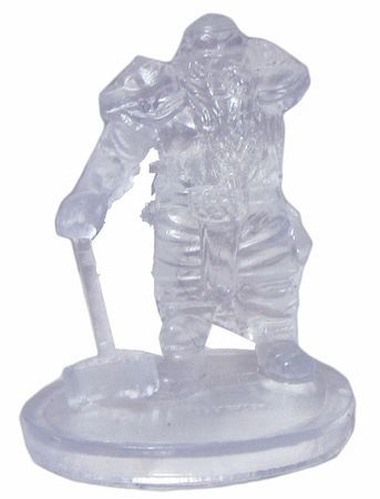 Shield Dwarf Fighter (Invisible) #7 D&D Icons of the Realms: Elemental Evil