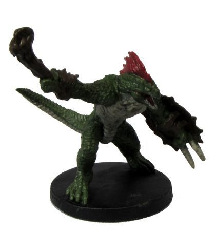 Lizardfolk Fighter #11/55 D&D Icons of the Realms: Rage of Demons
