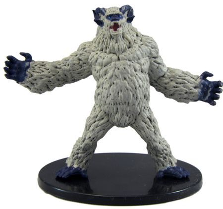 Yeti #29/45 D&D Icons of the Realms: Monster Menagerie