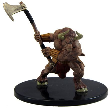 Minotaur #43/45 D&D Icons of the Realms: Monster Menagerie