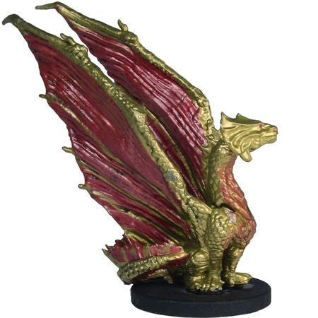 Brass Dragon Wyrmling #23/44 D&D Icons of the Realms: Monster Menagerie 2