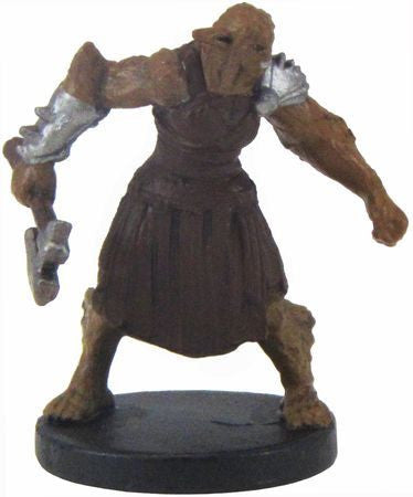 Bugbear (Handaxe) #12/44 D&D Icons of the Realms: Monster Menagerie 2