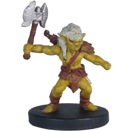 Goblin (Axe) #15/44 D&D Icons of the Realms: Monster Menagerie 2