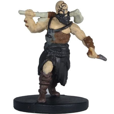 Uthgardt Barbarian (Bald) #33a/44 D&D Icons of the Realms: Monster Menagerie 2