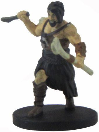 Uthgardt Barbarian (Not Bald) #33b/44 D&D Icons of the Realms: Monster Menagerie 2