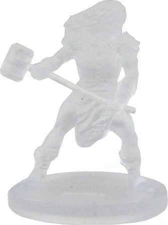 Half-Orc Barbarian (Invisible) #19/44 D&D Icons of the Realms: Monster Menagerie 2