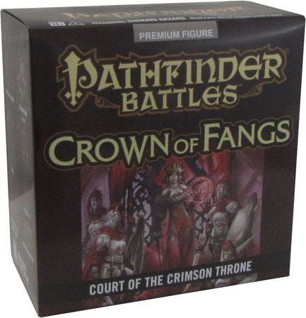 Pathfinder Battles: Crown of Fangs Court of the Crimson Throne Case Incentive Promo