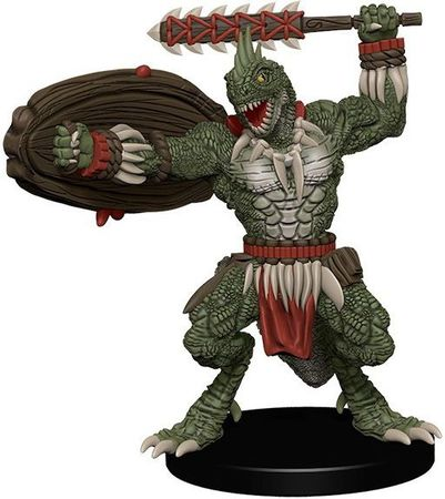 Lizardfolk Warrior #12 Maze of Death Pathfinder Battles