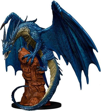 Large Blue Dragon #42 Maze of Death Pathfinder Battles