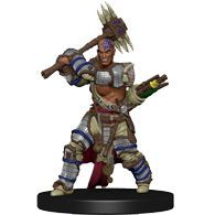 Crowe, Human Bloodrager #01 Pathfinder Battles: Iconic Heroes Set IV