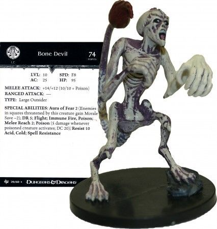 Bone Devil #29 Archfiends D&D Miniatures