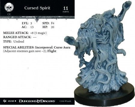 Cursed Spirit #49 Archfiends D&D Miniatures