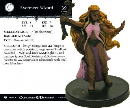 Evermeet Wizard #15 Archfiends D&D Miniatures