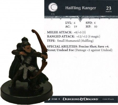 Halfling Ranger #17 Archfiends D&D Miniatures – Magic Mini Man
