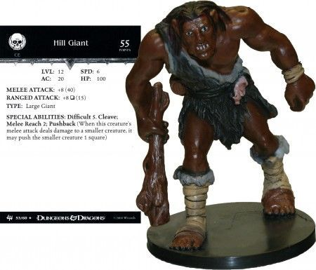 Hill Giant #53 Archfiends D&D Miniatures