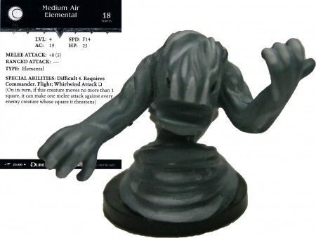 Medium Air Elemental #23 Dragoneye D&D Miniatures