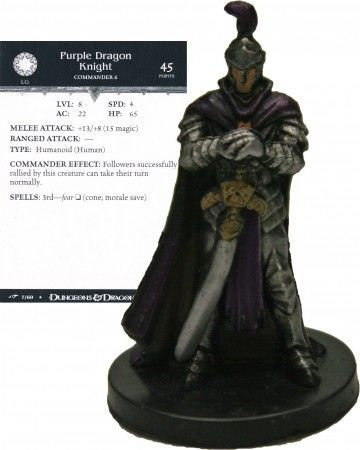 Purple Dragon Knight #07 Dragoneye D&D Miniatures
