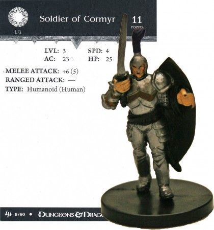 Soldier of Cormyr #08 Archfiends D&D Miniatures