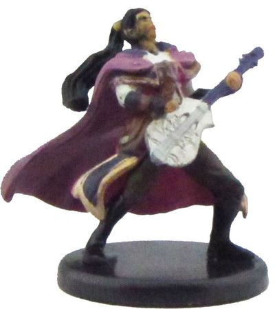 Human Bard (Guitar) #19b/45 D&D Icon of the Realms: Monster Menagerie III