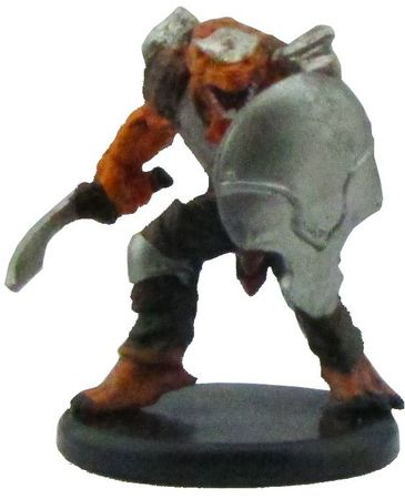 Dragonborn Fighter (Sword) #20a/45 D&D Icon of the Realms: Monster Menagerie III