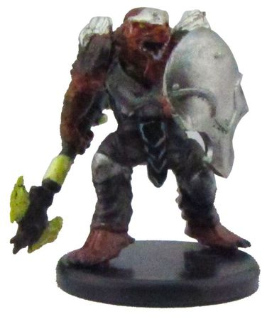 Dragonborn Fighter (Axe) #20b/45 D&D Icon of the Realms: Monster Menagerie III