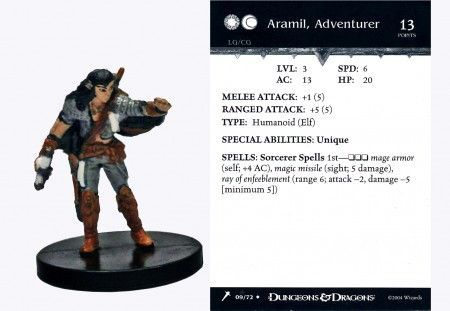 Aramil, Adventurer #09 Giants of Legend D&D Miniatures