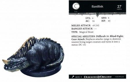 Basilisk #13 Giants of Legend D&D Miniatures