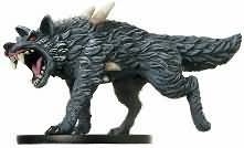 Dire Wolf #25 Giants of Legend D&D Miniatures