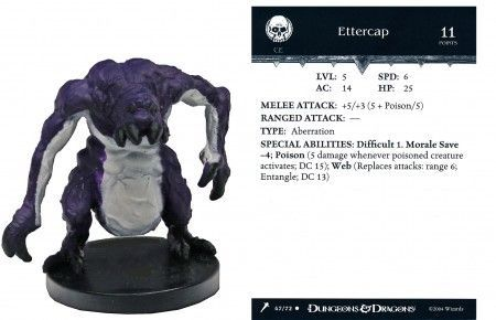 Ettercap #47 Giants of Legend D&D Miniatures