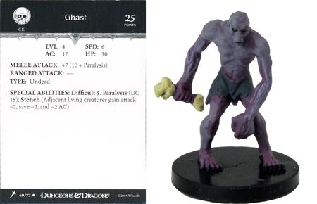Ghast #49 Giants of Legend D&D Miniatures