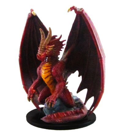 Huge Red Dragon #71 Giants of Legend D&D Miniatures