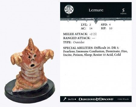 Lemure #34 Giants of Legend D&D Miniatures
