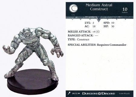 Medium Astral Construct #20 Giants of Legend D&D Miniatures