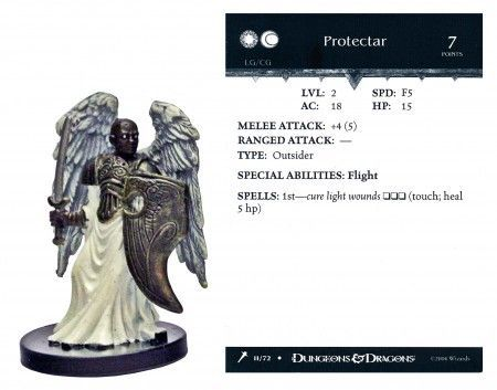 Protectar #11 Giants of Legend D&D Miniatures