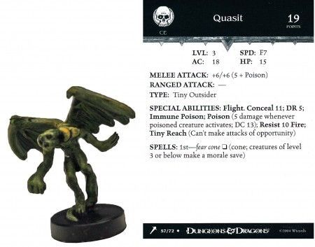 Quasit #57 Giants of Legend D&D Miniatures