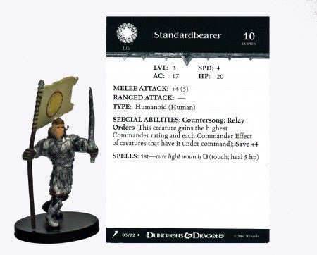 Standardbearer #03 Giants of Legend D&D Miniatures