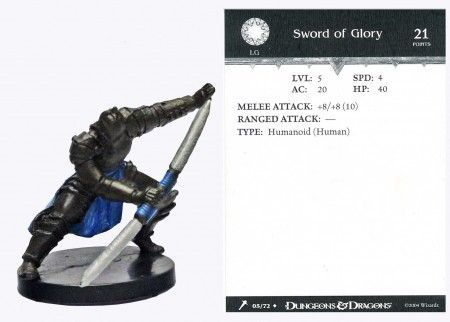Sword of Glory #05 Giants of Legend D&D Miniatures