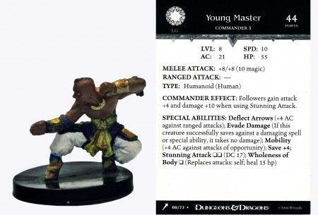 Young Master #08 Giants of Legend D&D Miniatures