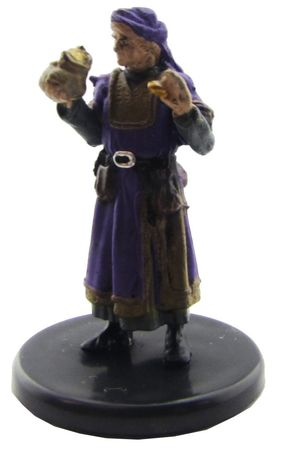 Merchant (Purple Clothes) #6b/44 D&D Icons of the Realms: Waterdeep Dragon Heist