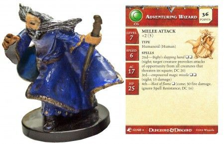 Adventuring Wizard #12 Aberrations D&D Miniatures