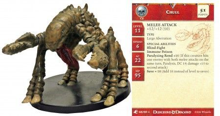 Chuul #48 Aberrations D&D Miniatures