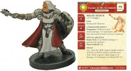Cleric of St. Cuthbert #04 Aberrations D&D Miniatures