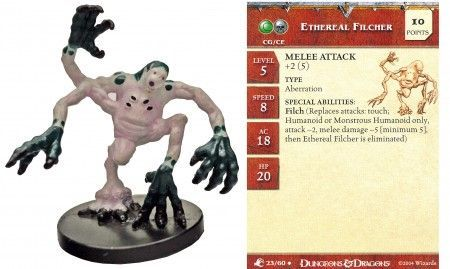 Ethereal Filcher #23 Aberrations D&D Miniatures