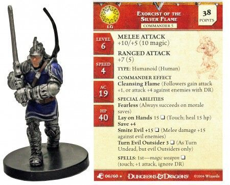 Exorcist of the Silver Flame #06 Aberrations D&D Miniatures