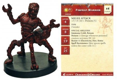 Formian Warrior #22 Aberrations D&D Miniatures