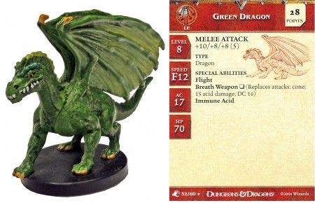 Green Dragon #32 Aberrations D&D Miniatures
