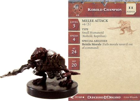 Kobold Champion #37 Aberrations D&D Miniatures